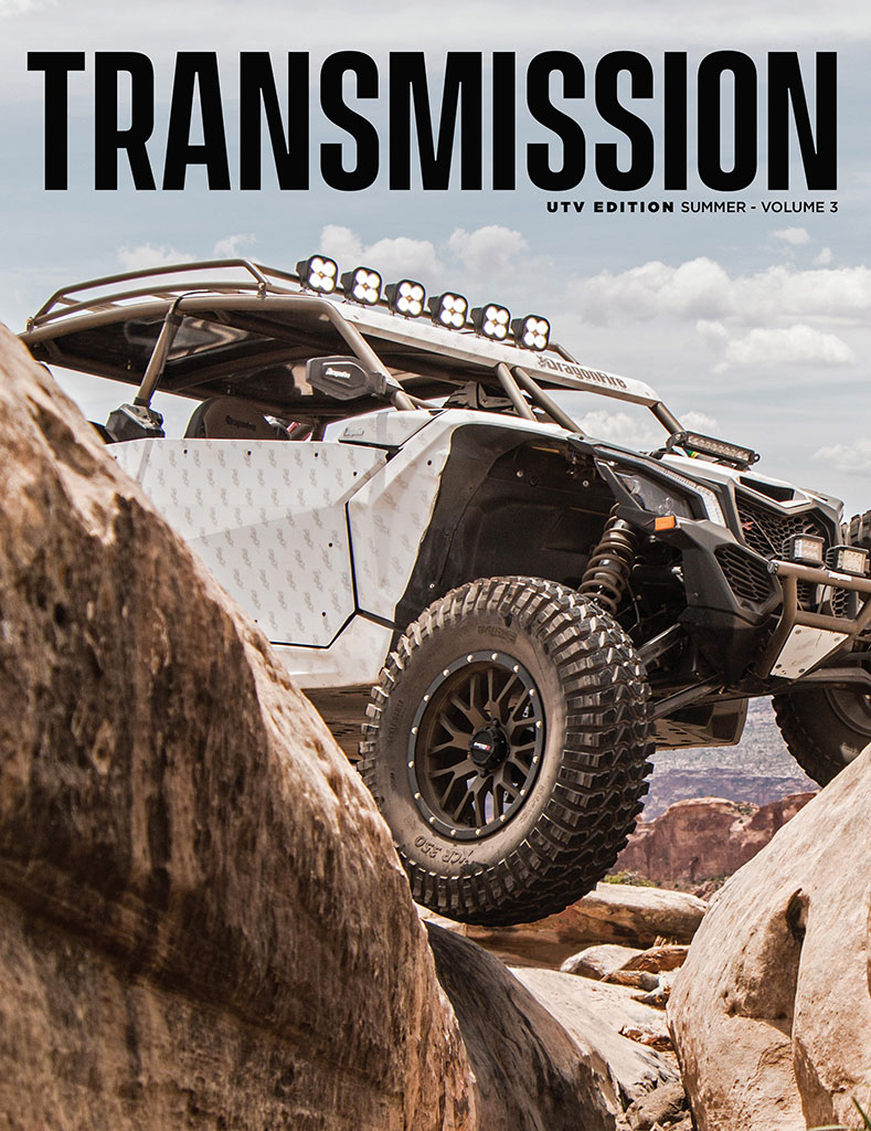 Tucker Transmission Magazine Volume 3 Cover