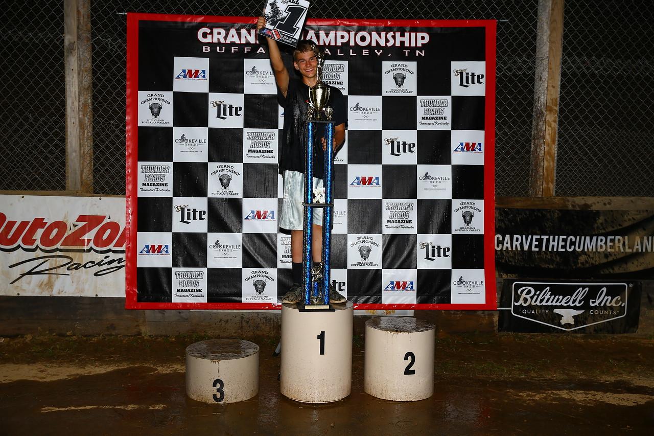 2019 AMA Hillclimb Racer of the Year Bodee O'Neil. (Credit: Joe Hansen)