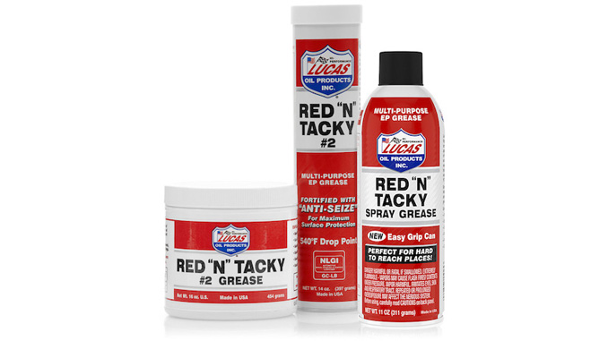 Lucas Oil Product Feature: Red