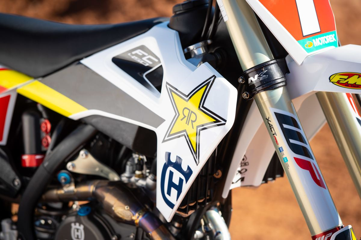 HUSQVARNA MOTORCYCLES & ROCKSTAR ENERGY DRINK FURTHER EXTEND GLOBAL PARTNERSHIP