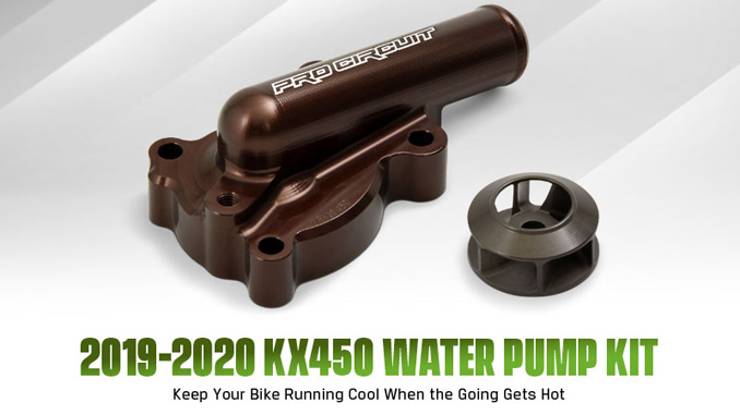 Pro Circuit 2019-2020 KX450 Water Pump Kit