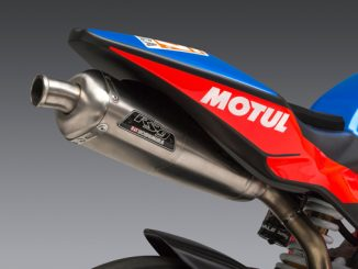 Yoshimura Introduces Ohvale RS-9T Titainum Race Series Exhaust System