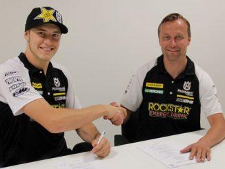 Rockstar Energy Husqvarna Factory Racing Extend Contract with Arminas Jasikonis