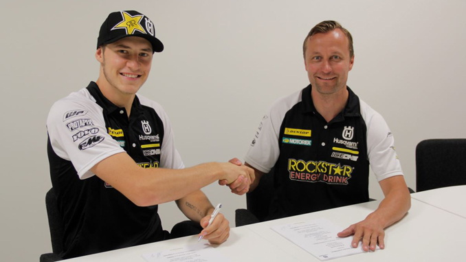 Rockstar Energy Husqvarna Factory Racing Extend Contract with Arminas Jasikonis