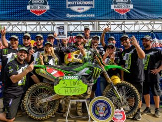 Monster Energy Kawasaki Rider Eli Tomac Captures Third Consecutive Pro Motocross Championship
