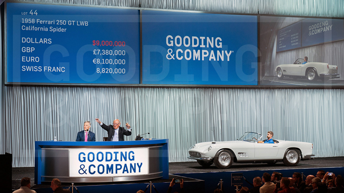 Gooding & Company 2019 Pebble Beach Auctions