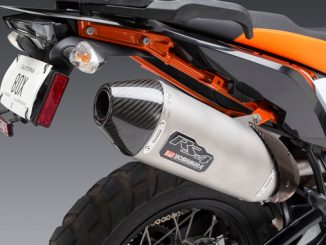 Yoshimura Introduces 2019 KTM 790 Adventure RS-4 Slip-on