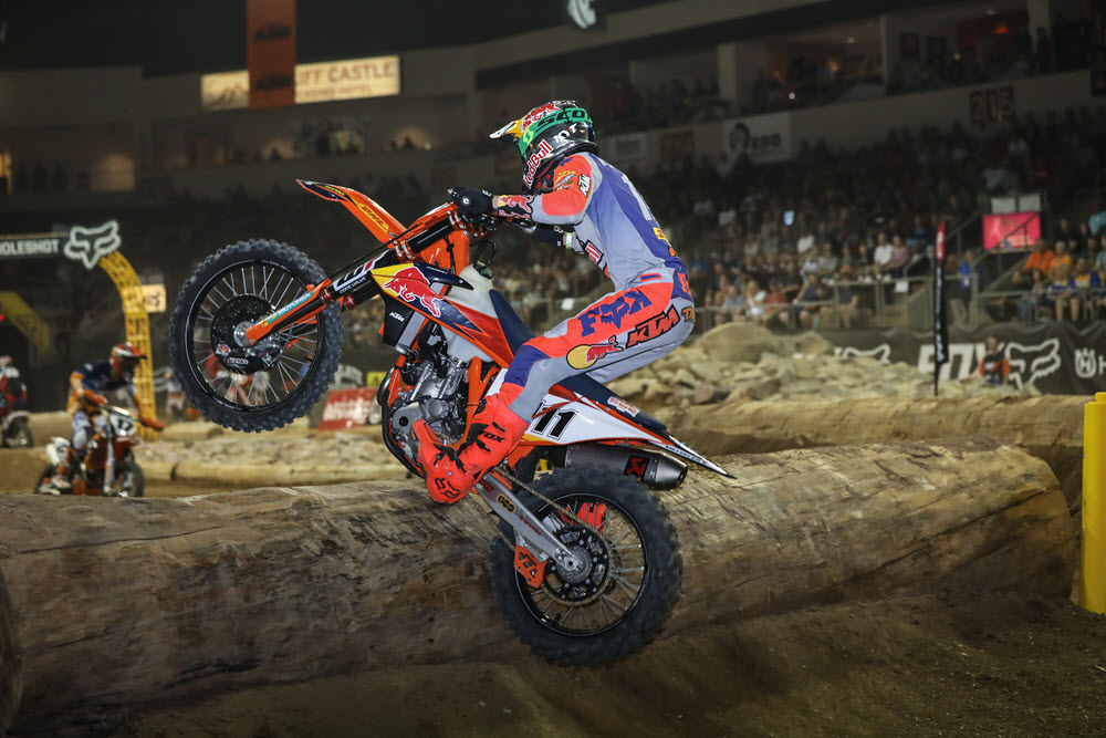 Taddy Blazusiak showed a lot of speed - EnduroCross