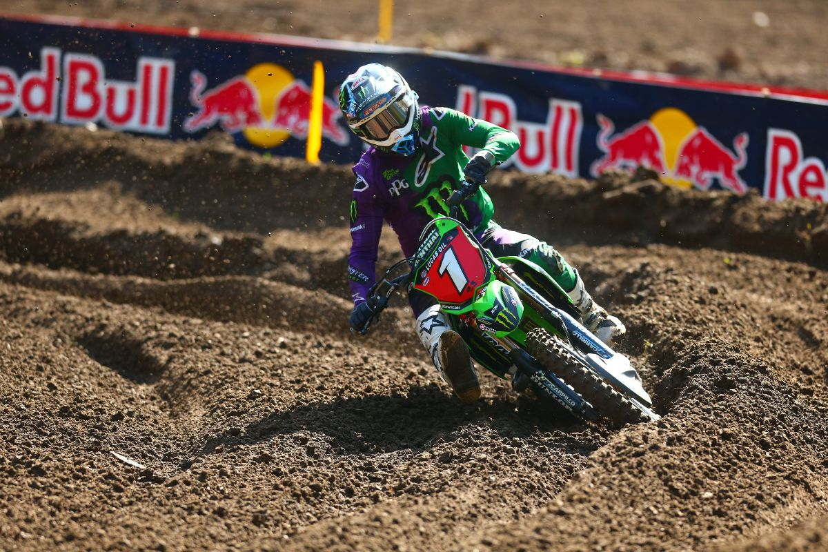 Tomac captured a sixth overall victory of the 2019 season in the 450 Class - The STACYC Stability Cycle Ironman National