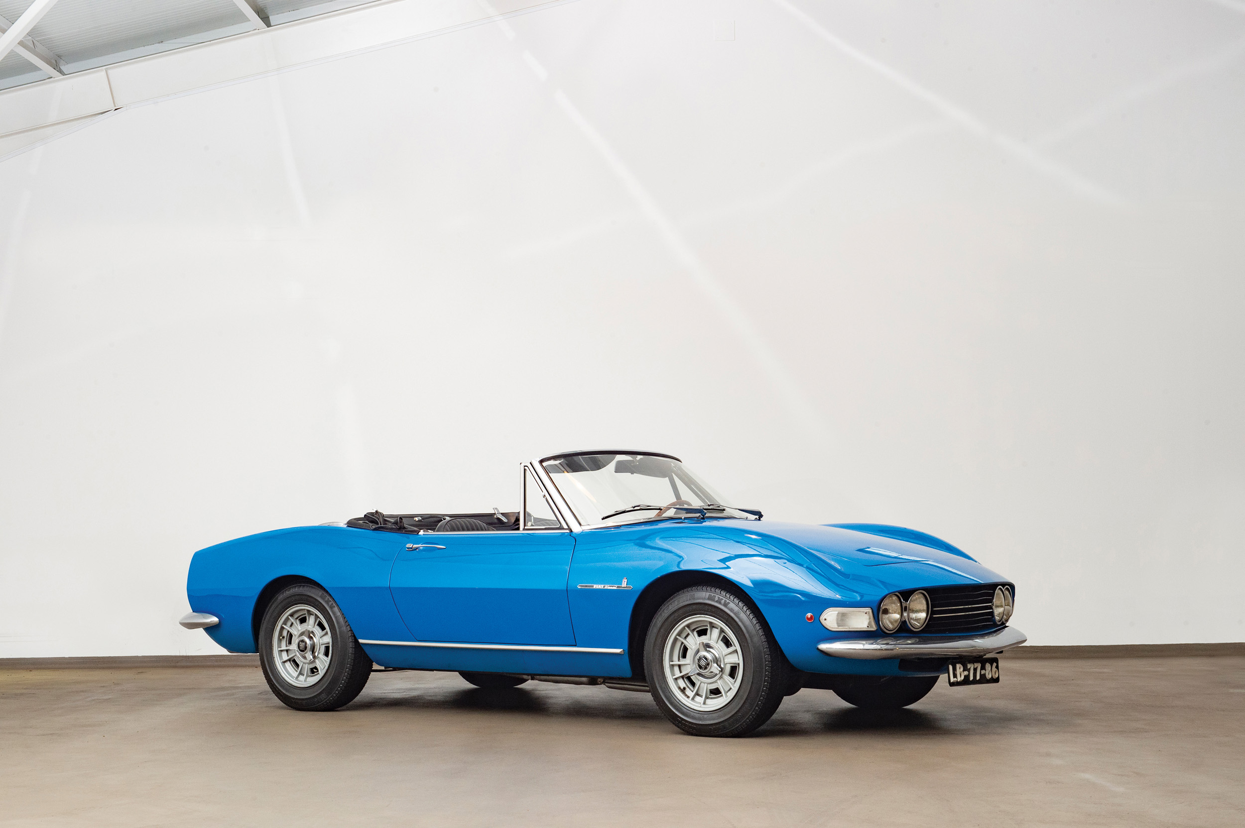 1967 Fiat Spider by Pininfarina (Credit- Tom Wood ©2019 Courtesy of RM Sotheby's) - Portuguese Sale