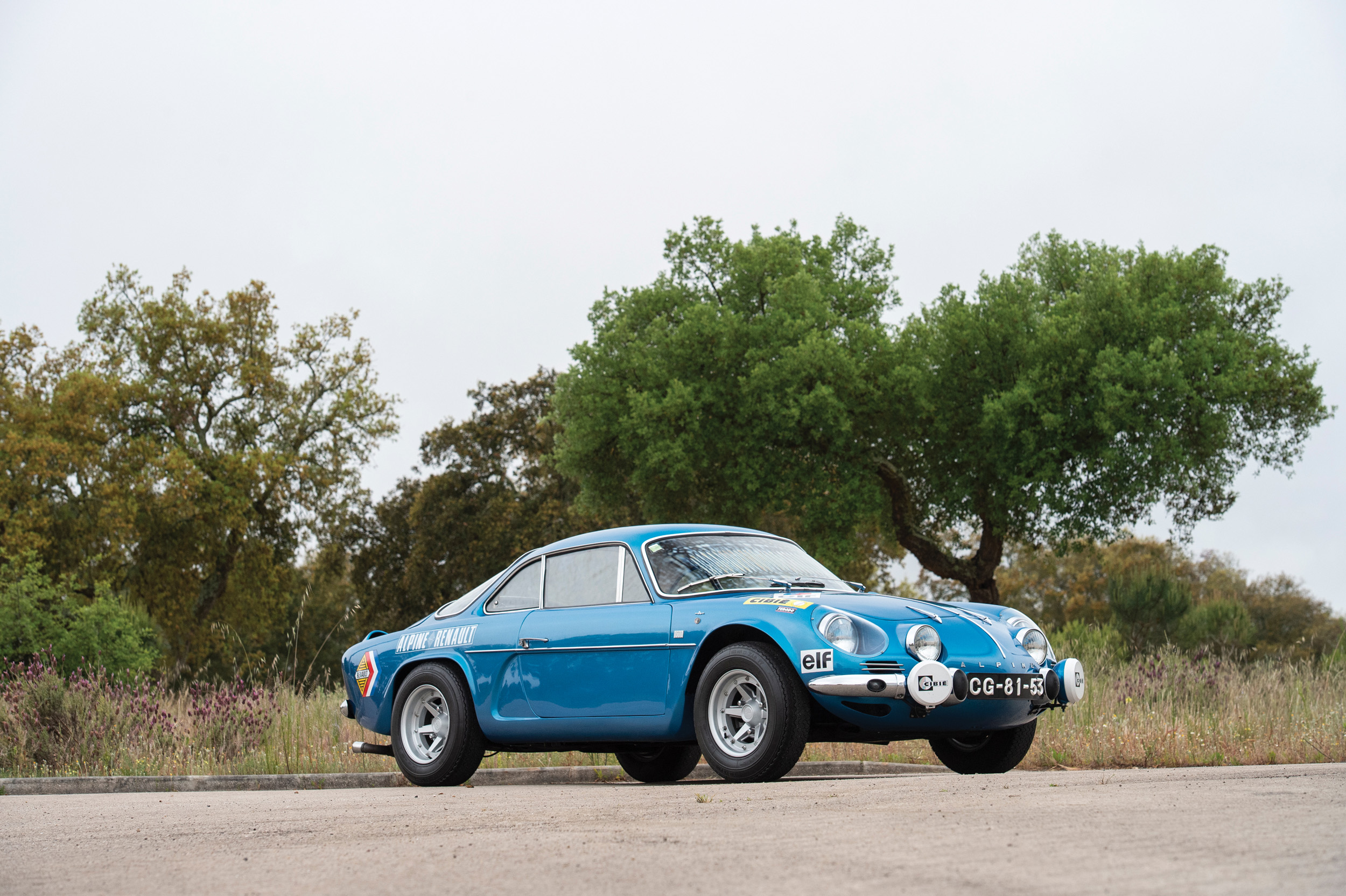 1972 Alpine A110 1300 (Credit- Tom Wood ©2019 Courtesy of RM Sotheby's) - Portuguese Sale
