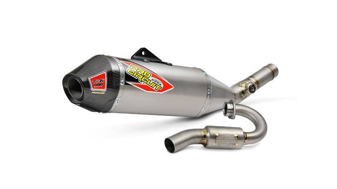 2020 KX250 Pro Circuit Ti-6 Pro Titanium Exhaust System