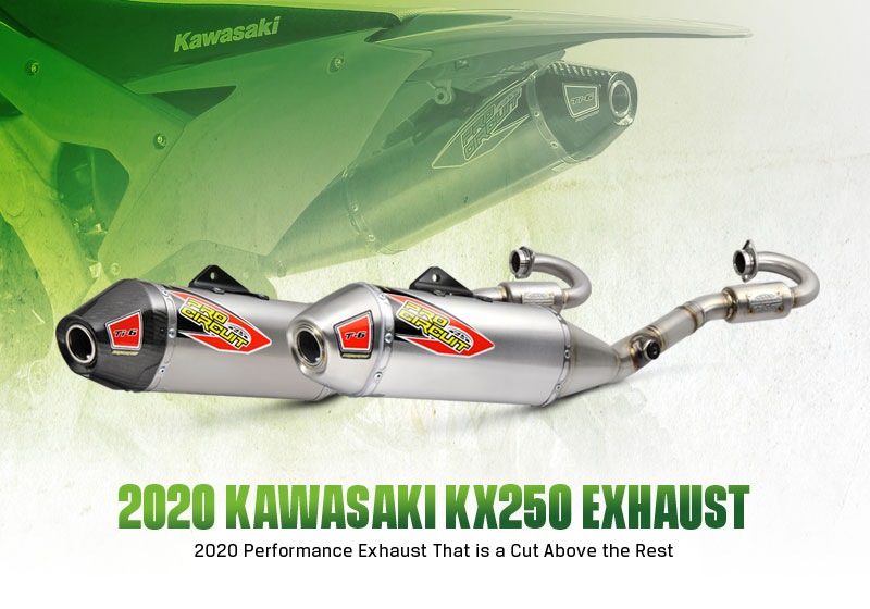 New Products- Pro Circuit 2020 KX250 Exhaust Systems