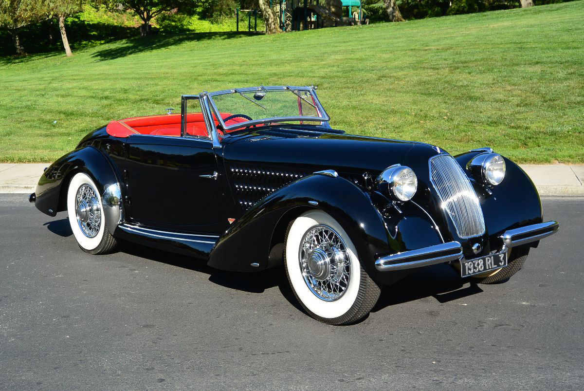 1938 Talbot-Lago T120 Roadster (Lot S123) - Mecum Auctions Monterey