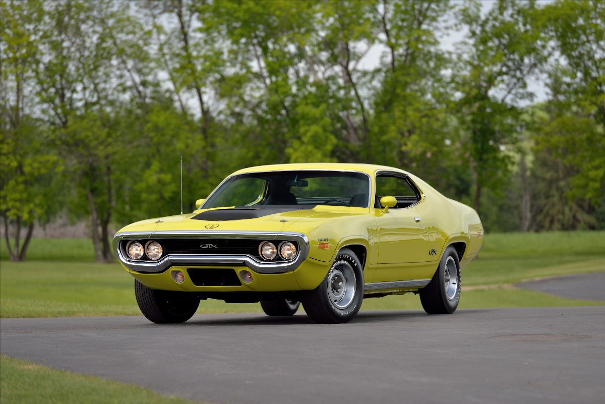 1971 Plymouth Hemi GTX (Lot F140) - Mecum Auctions Dallas
