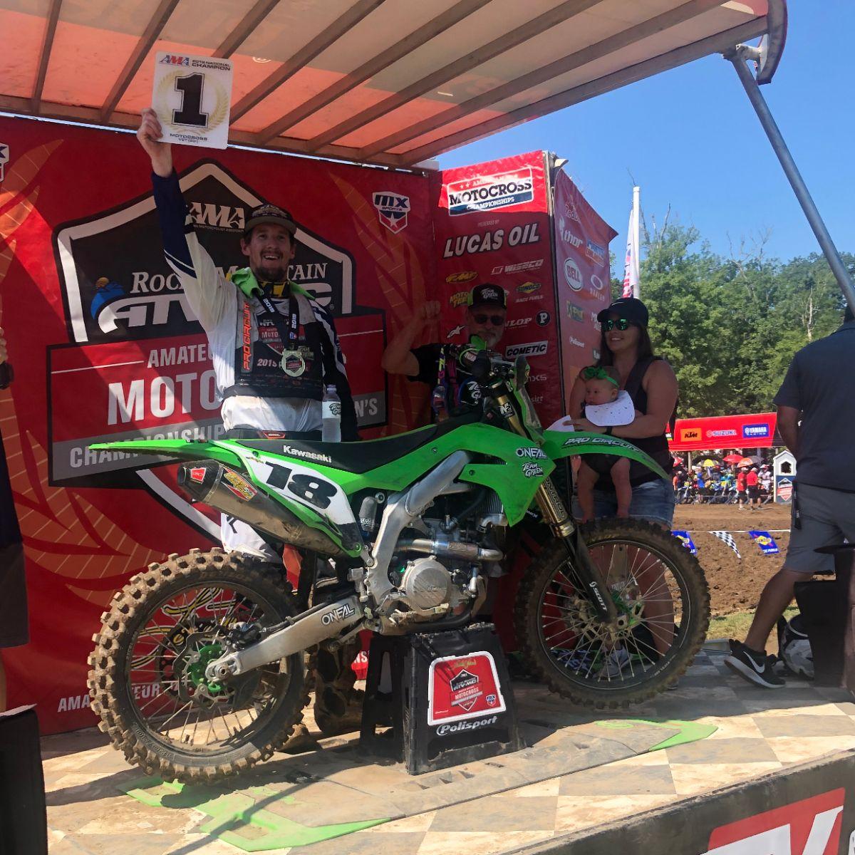 Another Succesful Year at Loretta Lynn's for Kawasaki Team Green