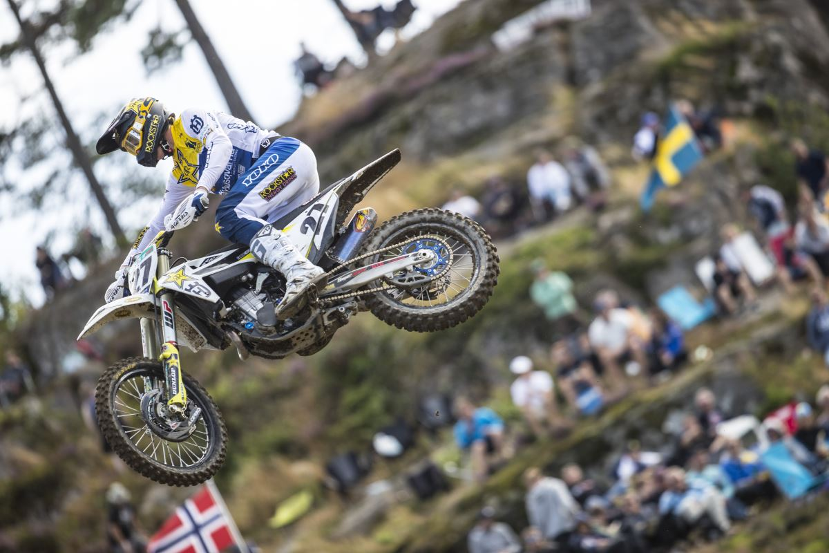 Arminas Jasikonis – Rockstar Energy Husqvarna Factory Racing - MXGP of Sweden