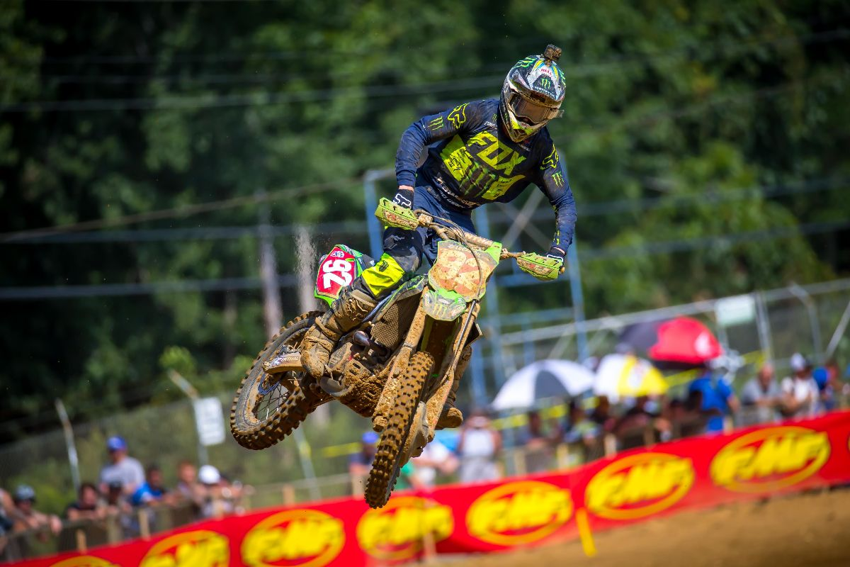 Cianciarulo was second on the day and extended his championship lead to 30 points - Budds Creek