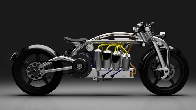 Fast Radius - The Zeus by Curtiss Motorcycle