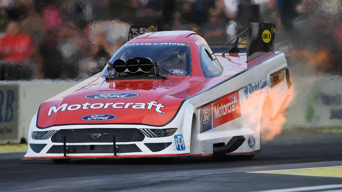 Funny Car - Bob Tasca III - Magic Dry Organic Absorbent NHRA Northwest Nationals action