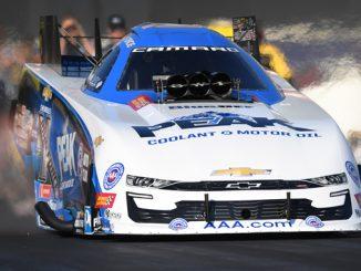 Funny Car - John Force - Chevrolet Performance U.S. Nationals action