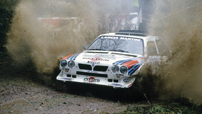 Henri Toivonen en route to an overall win at the 1985 Lombard RAC Rally - RM Sotheby's London