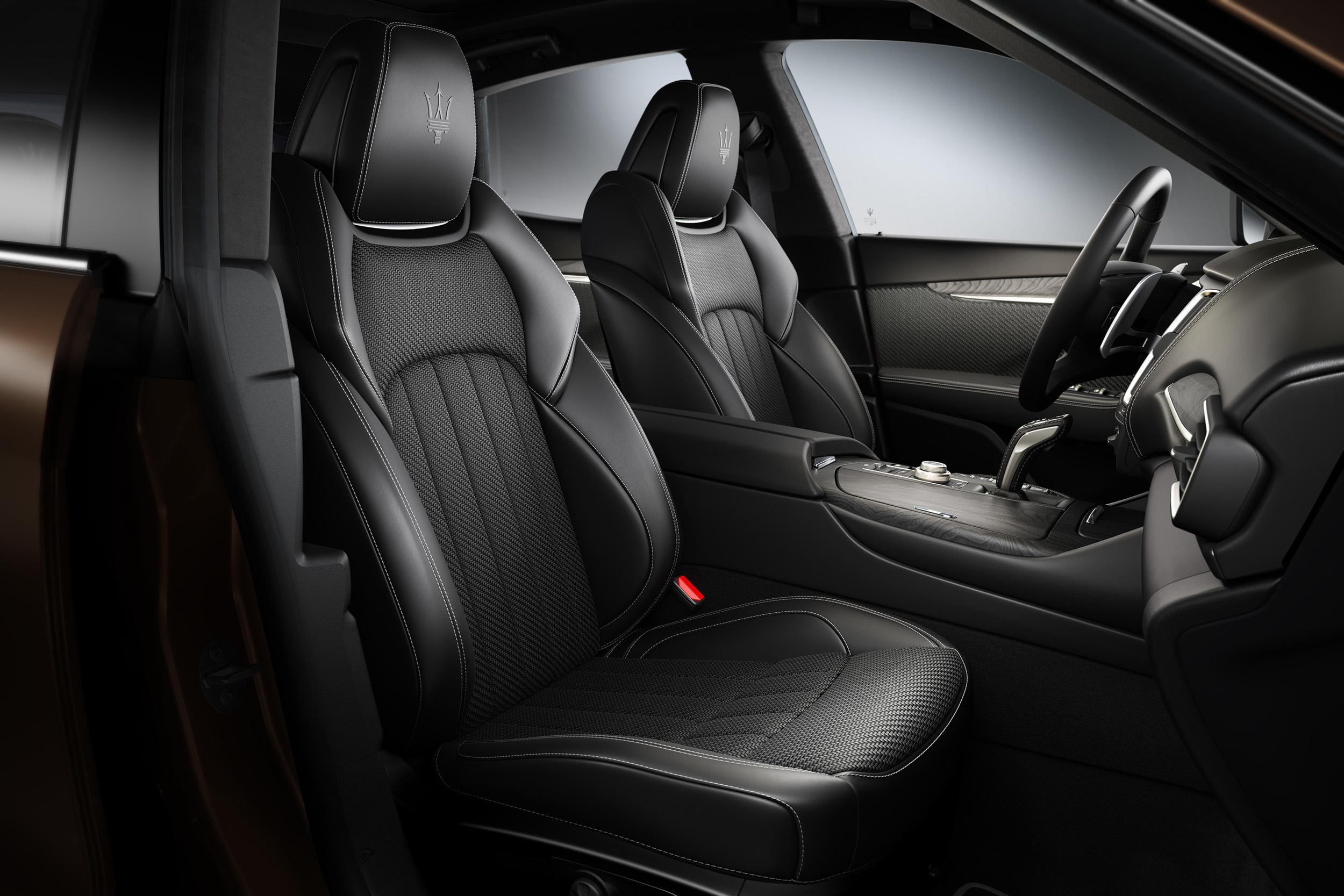 Limited Edition - Maserati Levante  Exterior: Bronzo tri-coat paint Interior: Black Zegna PELLETESSUTA™