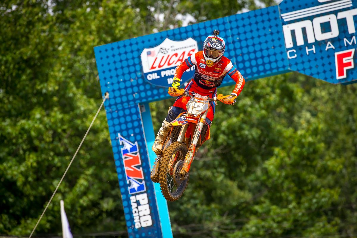McElrath swept both motos to capture his first overall win of the 2019 season - Budds Creek