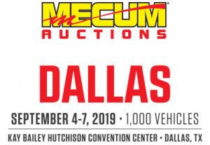 Mecum Auctions Dallas logo