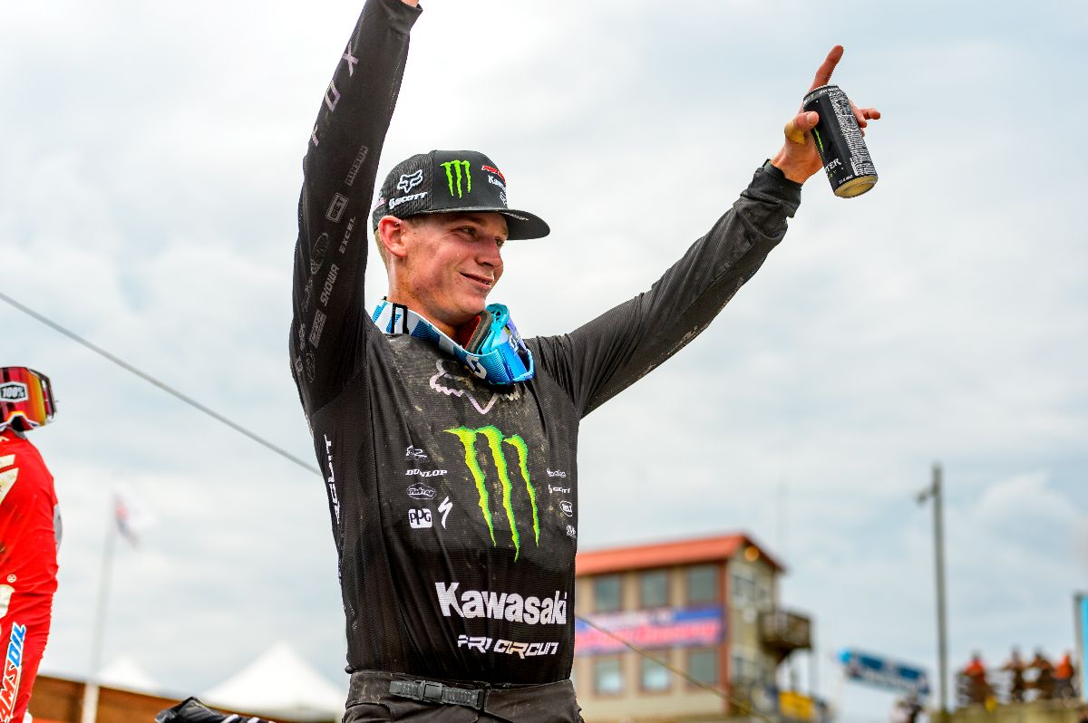 """Monster Energy Kawasaki Race Team - """"I am super excited and grateful for this opportunity,"""" said Cianciarulo"""