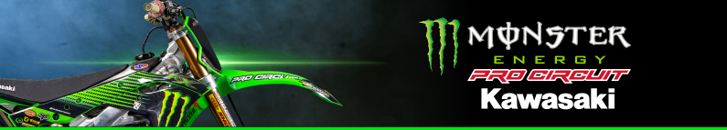 Monster Energy Pro Circuit Kawasaki banner
