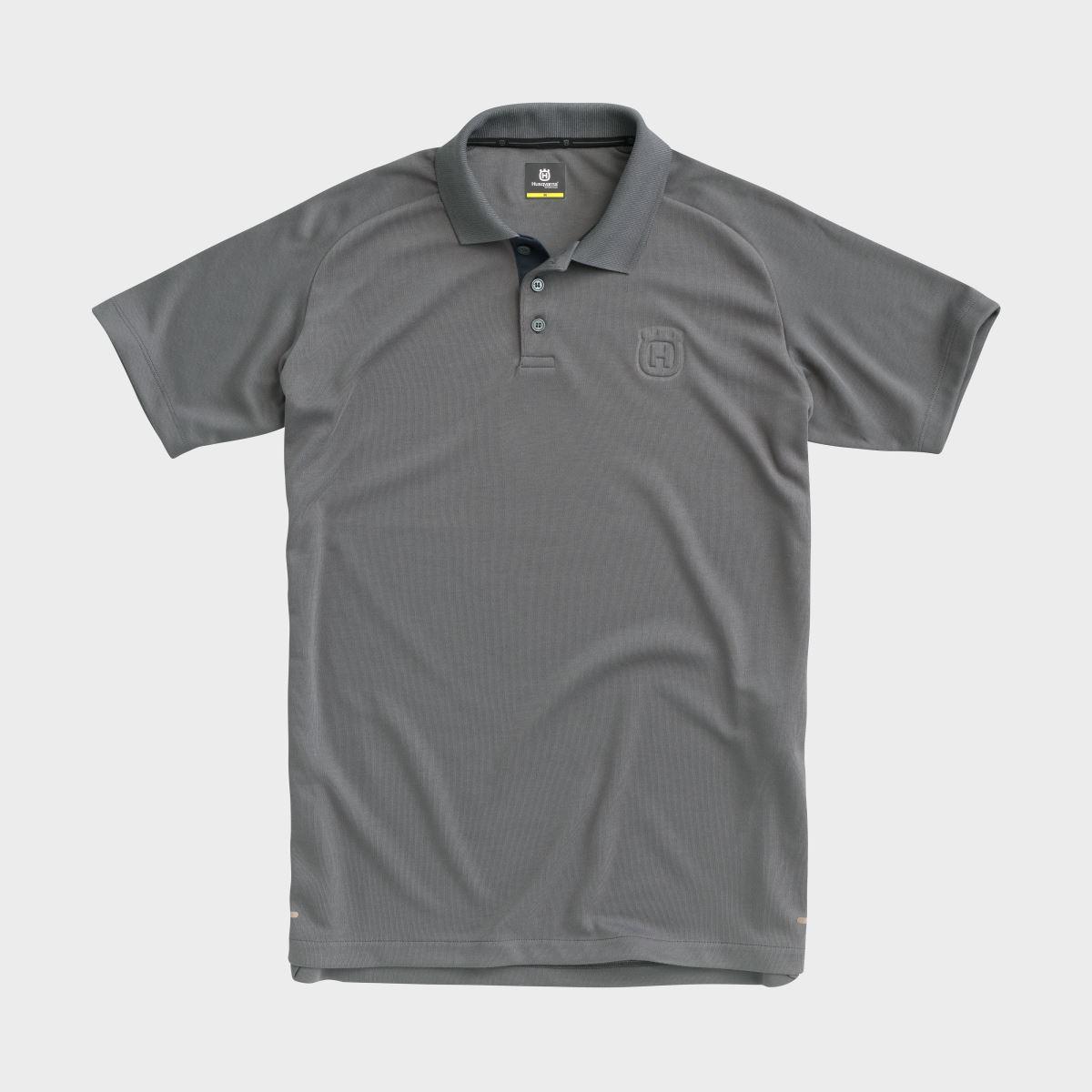 ORIGIN POLO GREY - CASUAL CLOTHING COLLECTION 2020