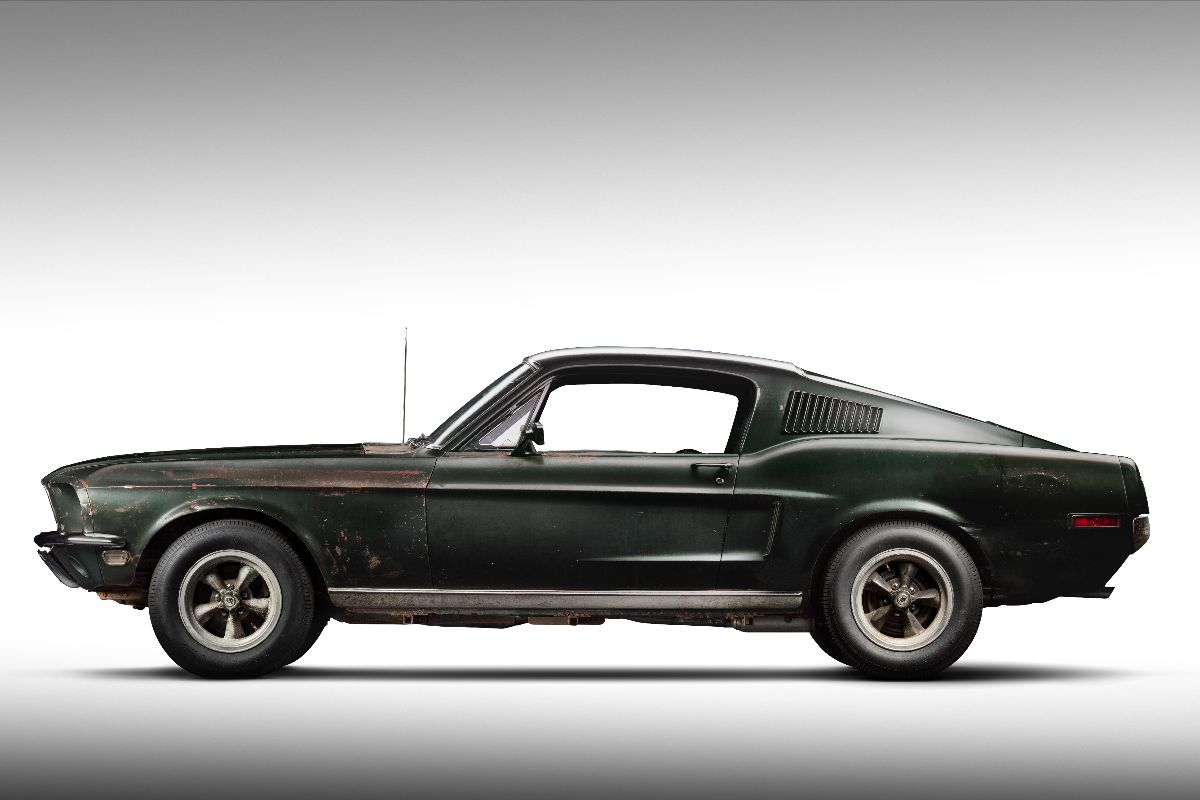 "Original 1968 Mustang '559 from the Movie ""Bullitt"" Photo Courtesy of Historic Vehicle Association"