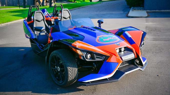 Polaris Slingshot Partners with the Florida Gators