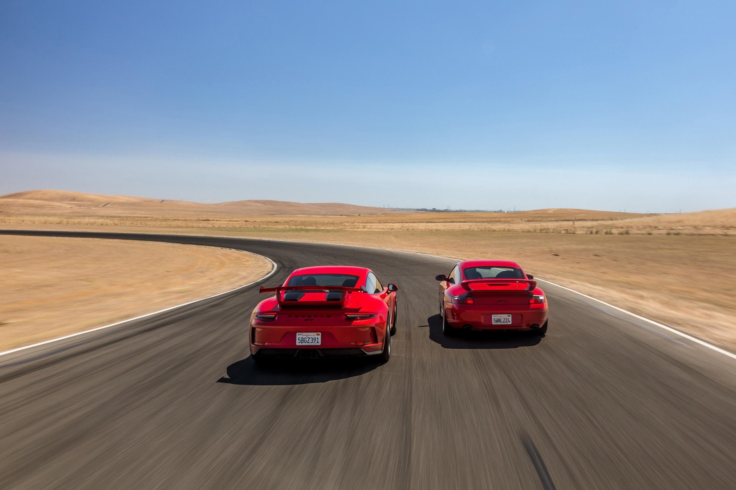 Porsche 911 GTS 2 generations
