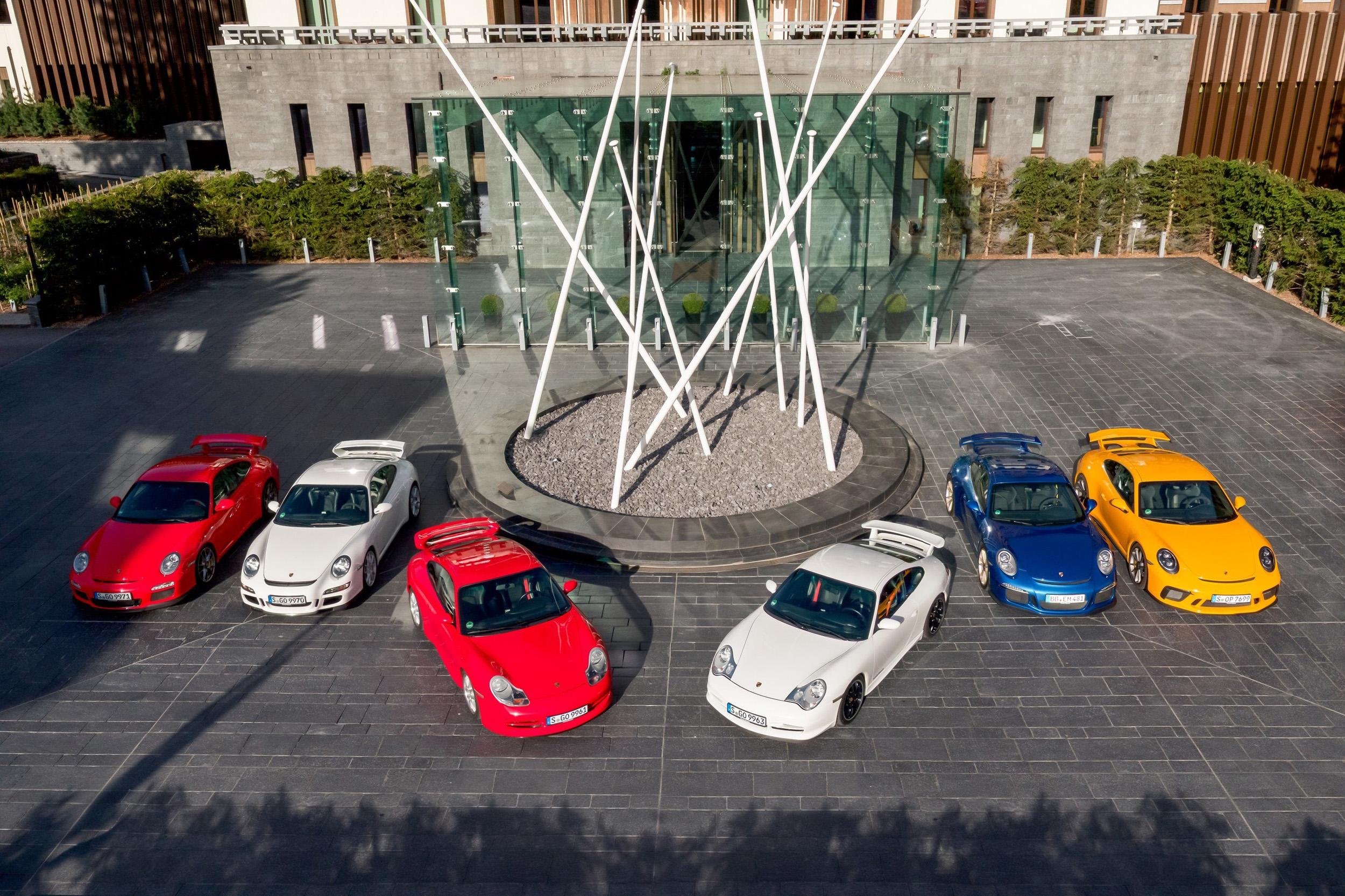 Porsche 911 GTS all generations