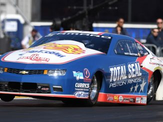 Pro Stock - Matt Hartford - Lucas Oil NHRA Nationals action