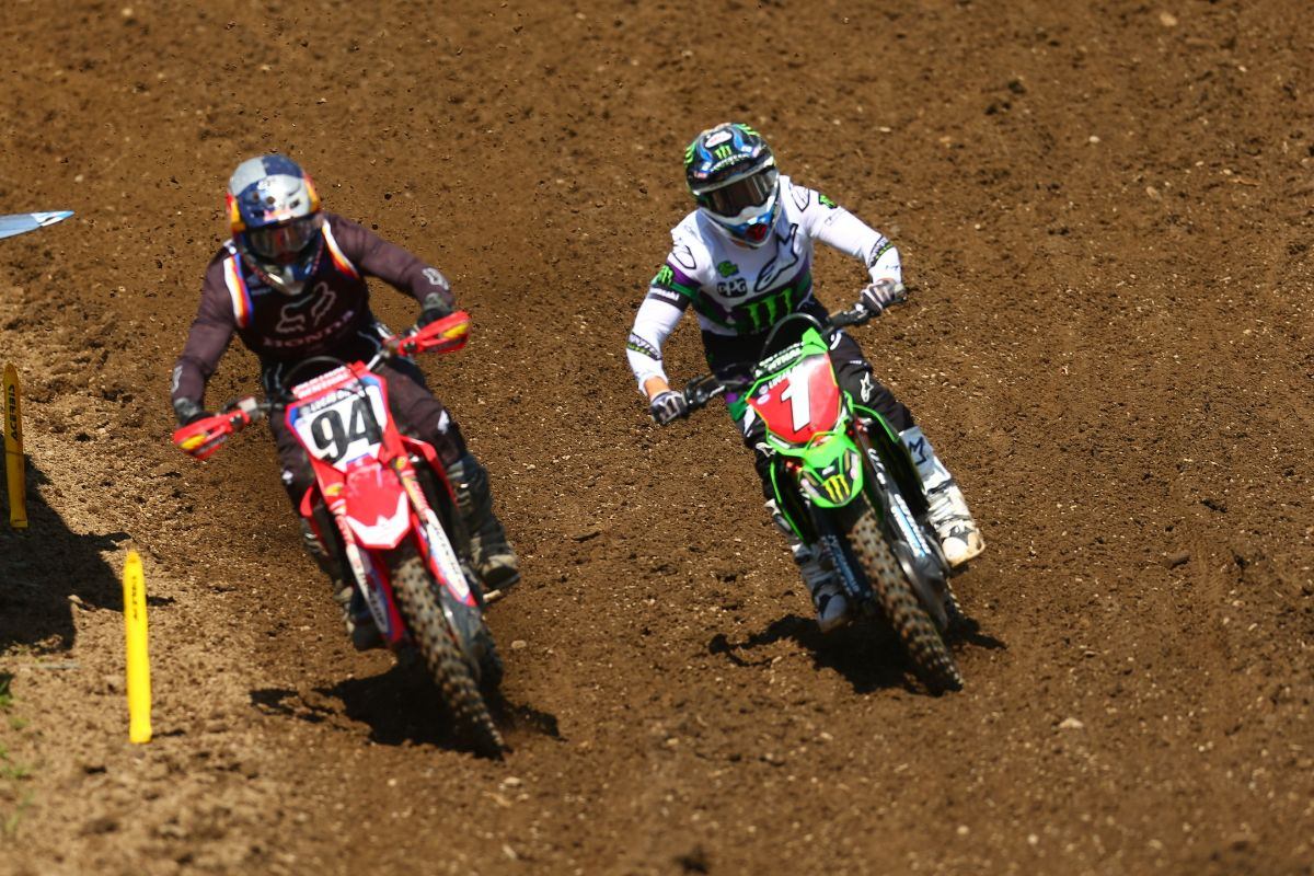Roczen was dominant both motos en route to his third win of the season - Unadilla