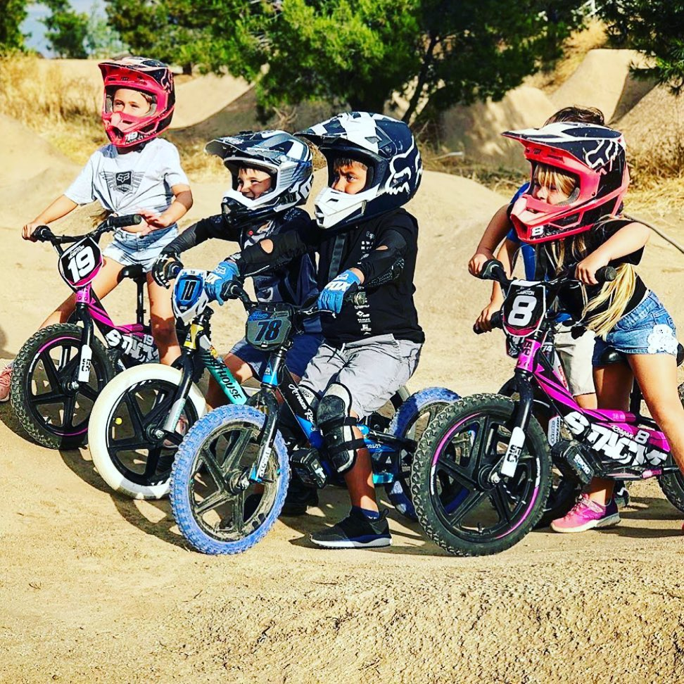 STACYC Stability Cycle offers two EDRIVE models for kids, ages 3-7