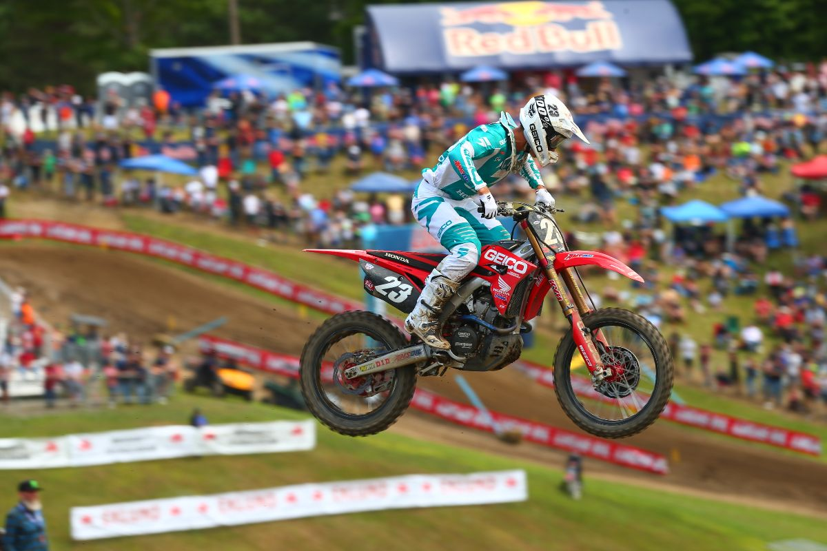 Sexton rounded out the overall podium in third - Unadilla