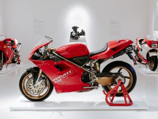 The Ducati 916 that belonged to Massimo Tamburini - Ducati Museum