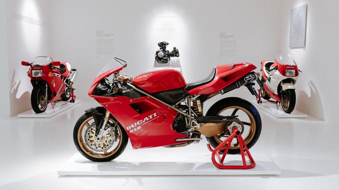 The Ducati 916 that belonged to Massimo Tamburini - Ducati Museum