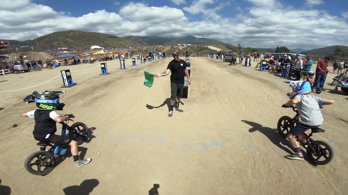 The STACYC demo track will host kids all afternoon at the Ironman National