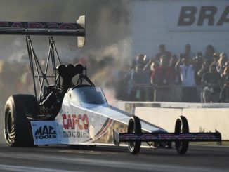 Top Fuel - Steve Torrence - Lucas Oil NHRA Nationals action