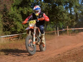 U.S. Club team rider competing at the FIM International Six Days Enduro. (Credit- Mark Kariya)