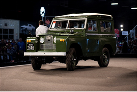 1966 Land Rover Series IIA 88 (Joe Martin © 2019 Courtesy of RM Sotheby's)