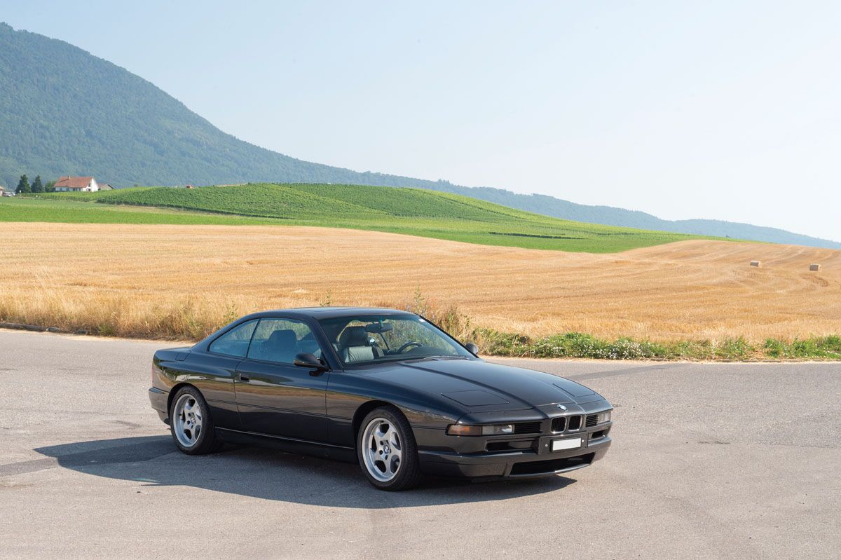 190905 1994 BMW 850 CSi (Credit - Tom Wood © 2019 Courtesy of RM Sotheby's)