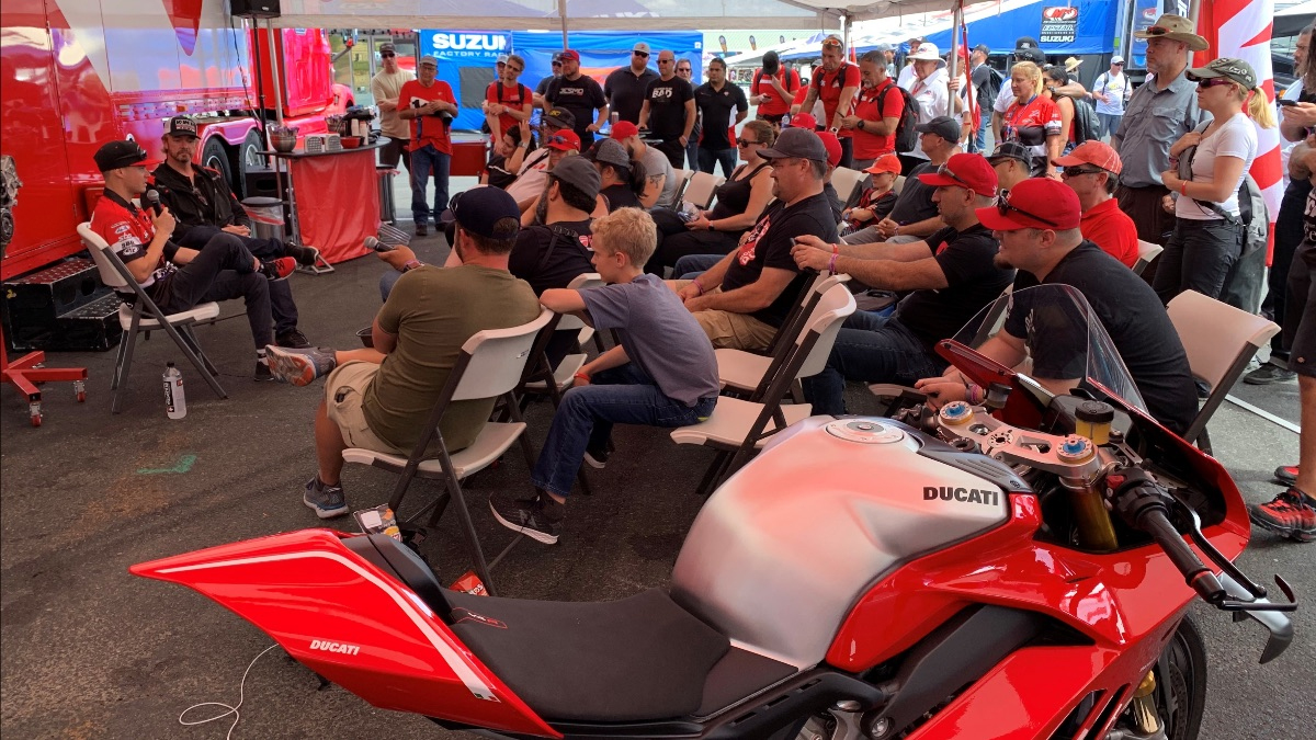 190912 Get treated like a VIP hang out with Ducati Superbike racer Kyle Wyman - Alabama Desmo Ducati VIP ticket package