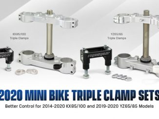 190922 Pro Circuit 2020 YZ and KX Mini Triple Clamp Sets [678]