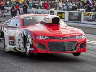 2019 NHRA Gateway Sun Pro Mod Winner Action Brad Plant Photo [678]